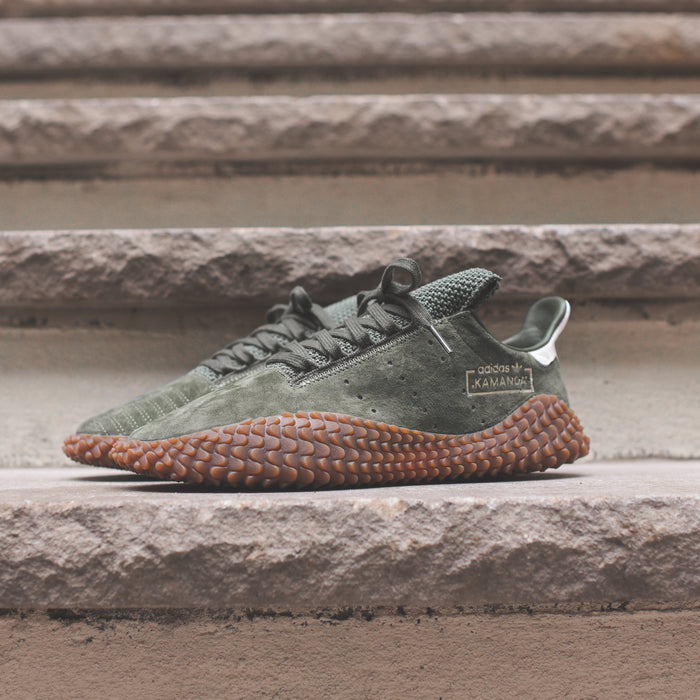 adidas Originals Kamanda - Base Green / Green / White