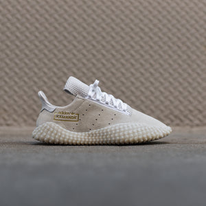 adidas Kamanda - Crystal White / Gold Metallic