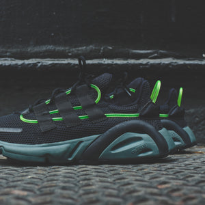 adidas Consortium LXCON - Dart Frog / Black / Legend Ivy / Hi-Res Yellow