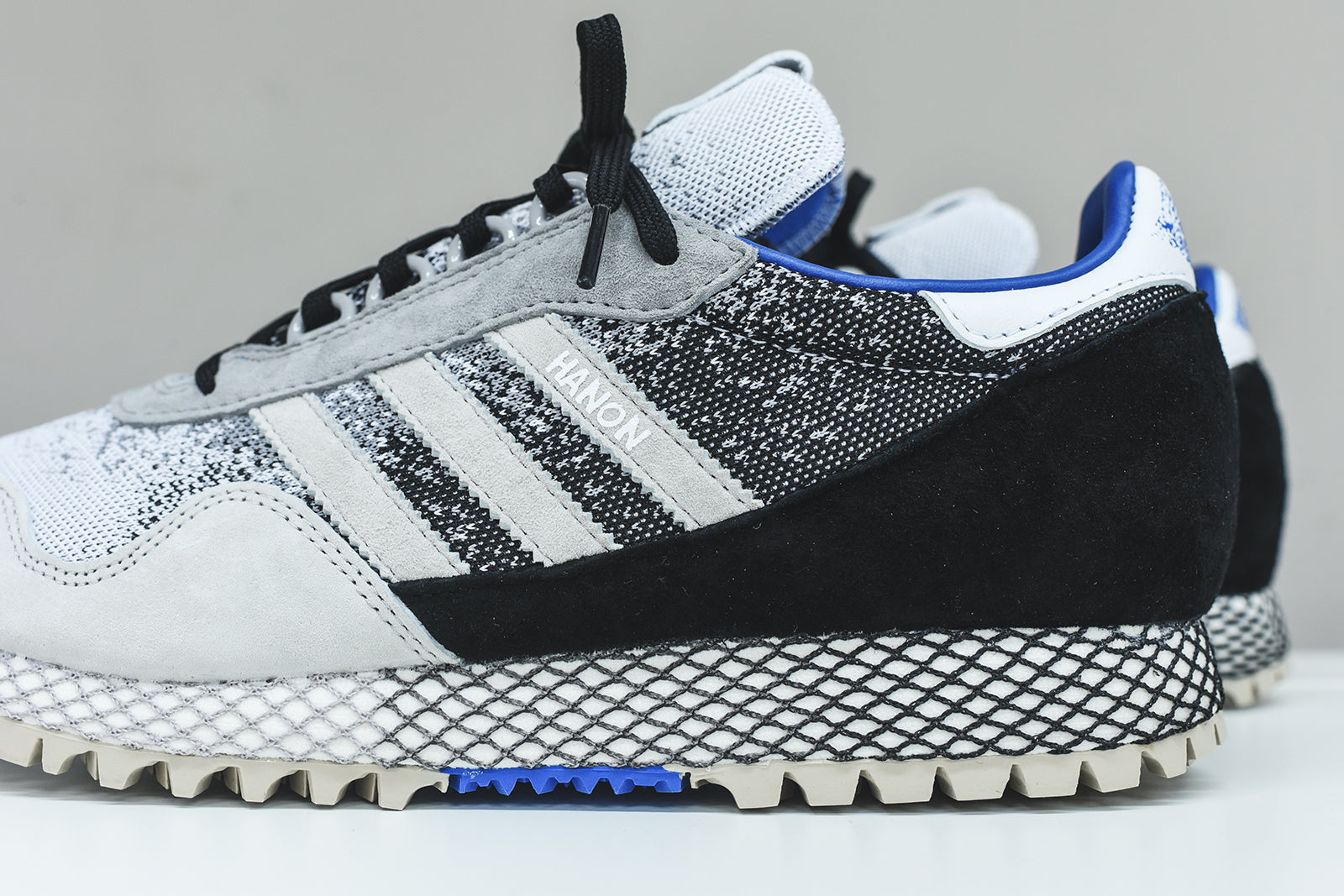 adidas Originals x Hanon New York - Black / White / Granite