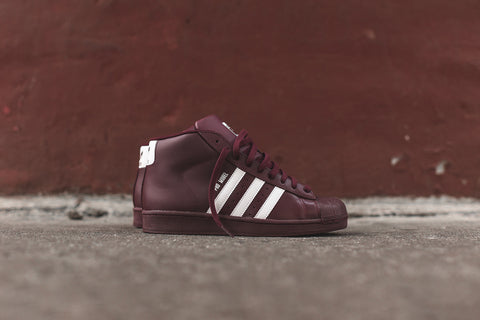 adidas Originals Pro Model - Burgundy / White