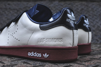adidas Originals x Raf Simons Stan Smith Velcro - Cream White / Navy / Brown