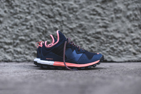 adidas WMNS Response Trail Boost - Navy / Sun Glow