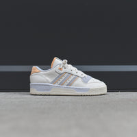 adidas Rivalry Low - Pastel Team / Cloud White / Off White / Aero Blue Thumbnail 1