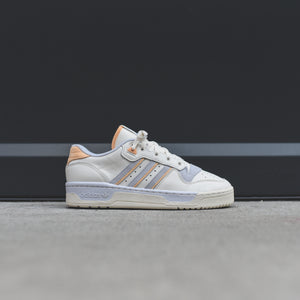 adidas Rivalry Low - Pastel Team / Cloud White / Off White / Aero Blue Image 1
