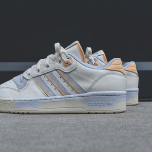 adidas Rivalry Low - Pastel Team / Cloud White / Off White / Aero Blue Image 5
