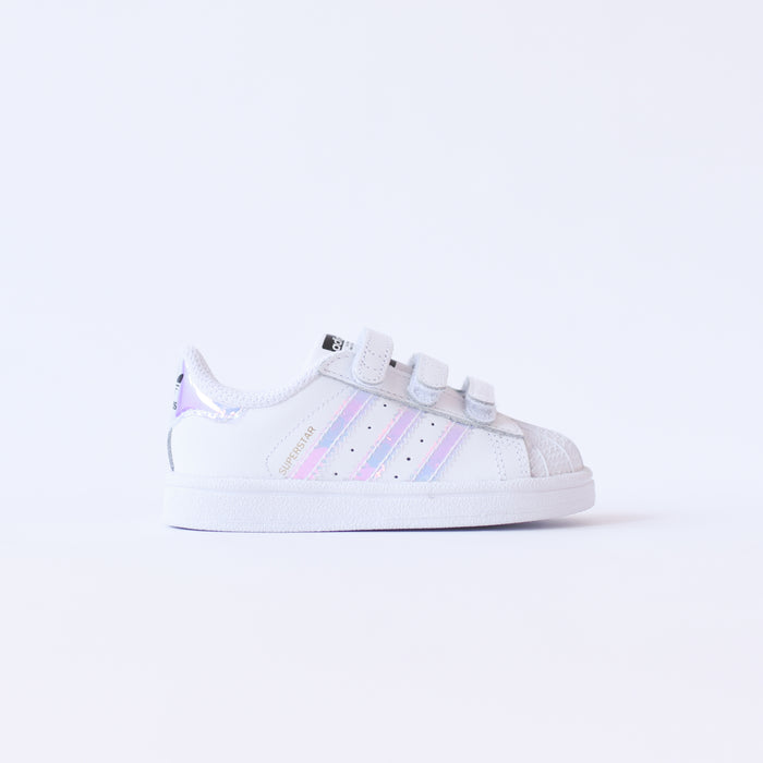 adidas Originals Infant Superstar CMF - White / Metallic Silver