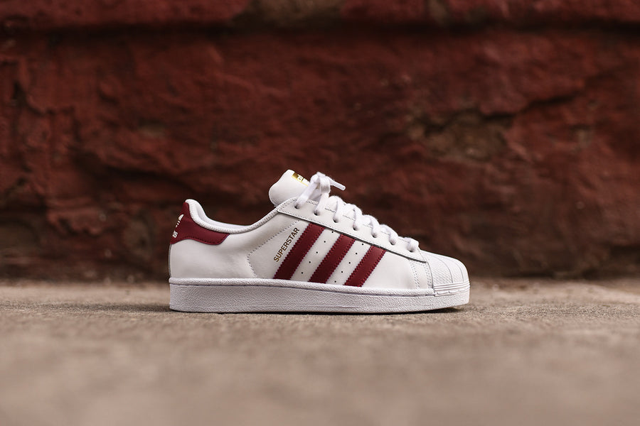 adidas Originals Superstar - Burgundy