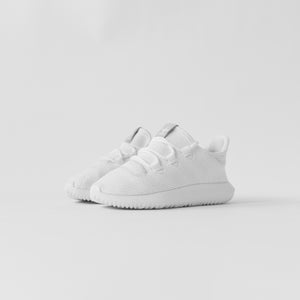 best website 85f01 63375 adidas Originals Crib Tubular Shadow - Triple White - 13C