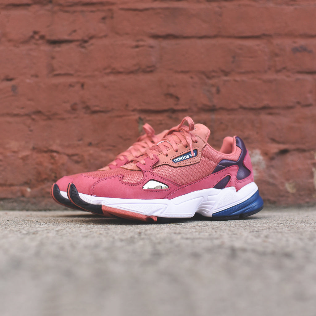 cheap for discount better hot sales adidas Originals WMNS Falcon - Raw Pink / Pink / Blue