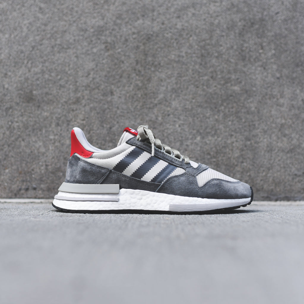 competitive price e9edd b5ccc adidas ZX 500 RM - Grey   White   Scarlet – Kith