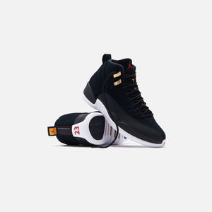 Nike Air Jordan 12 Retro - Black / White / Taxi / Varsity