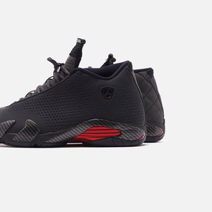 Nike Air Jordan 14 Retro SE - Black Anthracite / Varsity Red Image 4