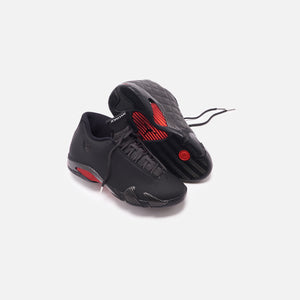 Nike Air Jordan 14 Retro SE - Black Anthracite / Varsity Red Image 2