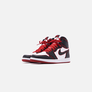Nike Air Jordan 1 Retro High OG - Black / Gym Red / White