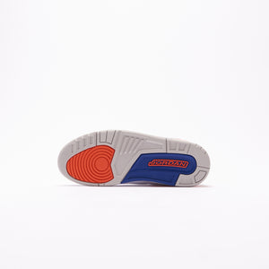 Nike Air Jordan 3 Retro - White / Orange / Grey / Royal Image 3