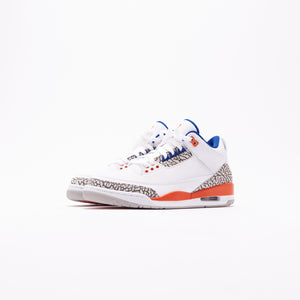 Nike Air Jordan 3 Retro - White / Orange / Grey / Royal Image 2