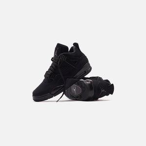 Nike Air Jordan 4 Retro Black Cat Kith