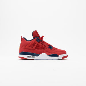 Nike Air Jordan 4 Retro SE - University Red / Obsidian / White / Metallic Gold Image 1