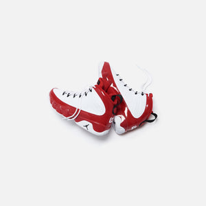 Nike Air Jordan 9 Retro - White / Black / Gym Red Image 2