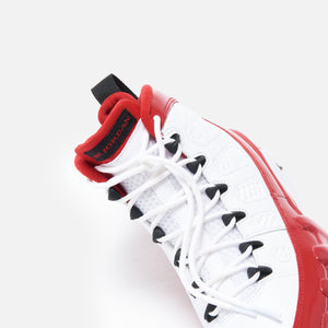 Nike Air Jordan 9 Retro - White / Black / Gym Red Image 5