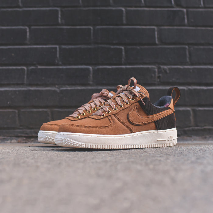 Nike Air Force 1 07 PRM WIP - Brown / Ale Brown / Sail