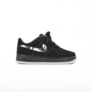 low priced 78b0f 5dc63 Nike GS Air Force 1 Low - Black   Wolf Grey   Dark Grey   White
