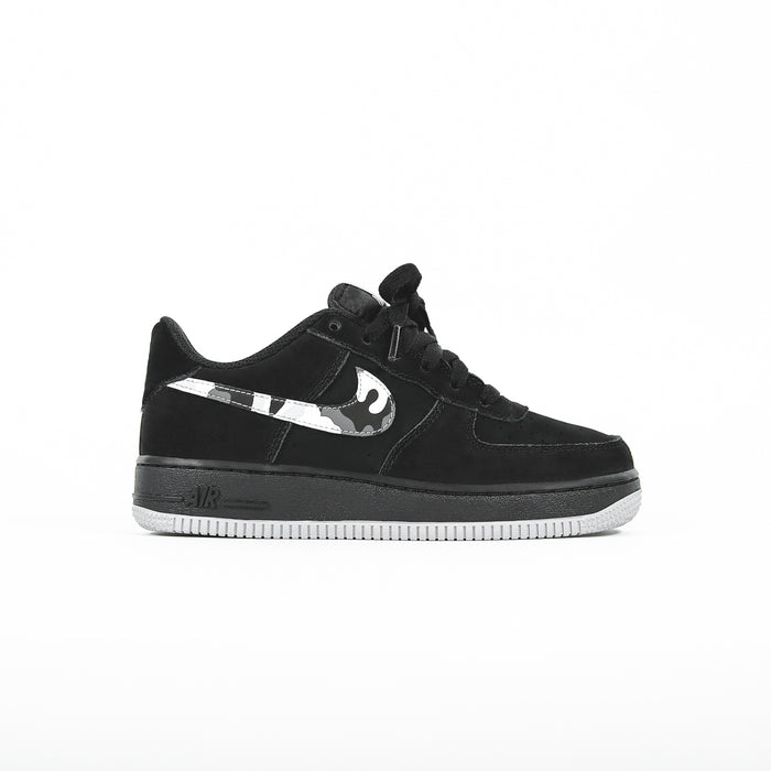 Nike GS Air Force 1 Low -  Black / Wolf Grey / Dark Grey / White