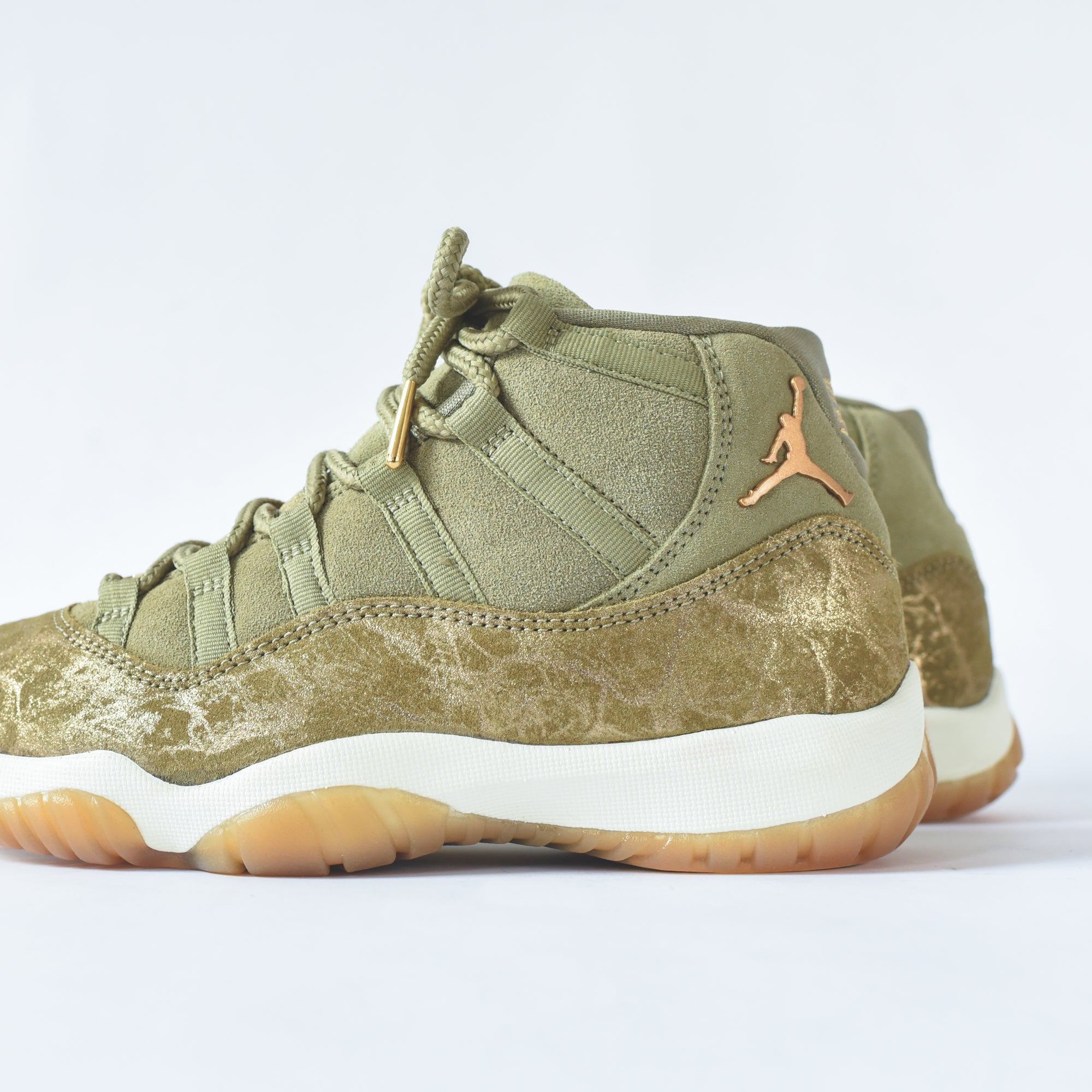 d9f42d37244e ... discount code for nike wmns air jordan 11 retro neutral olive mtlc stout  sail 1e4ba 1bcac