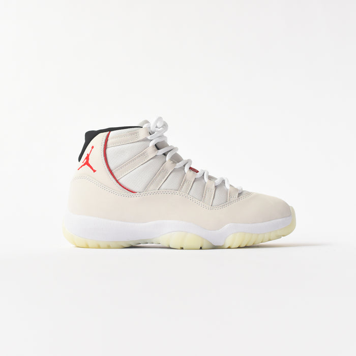 Nike Air Jordan 11 Retro - Platinum Tint / University Red