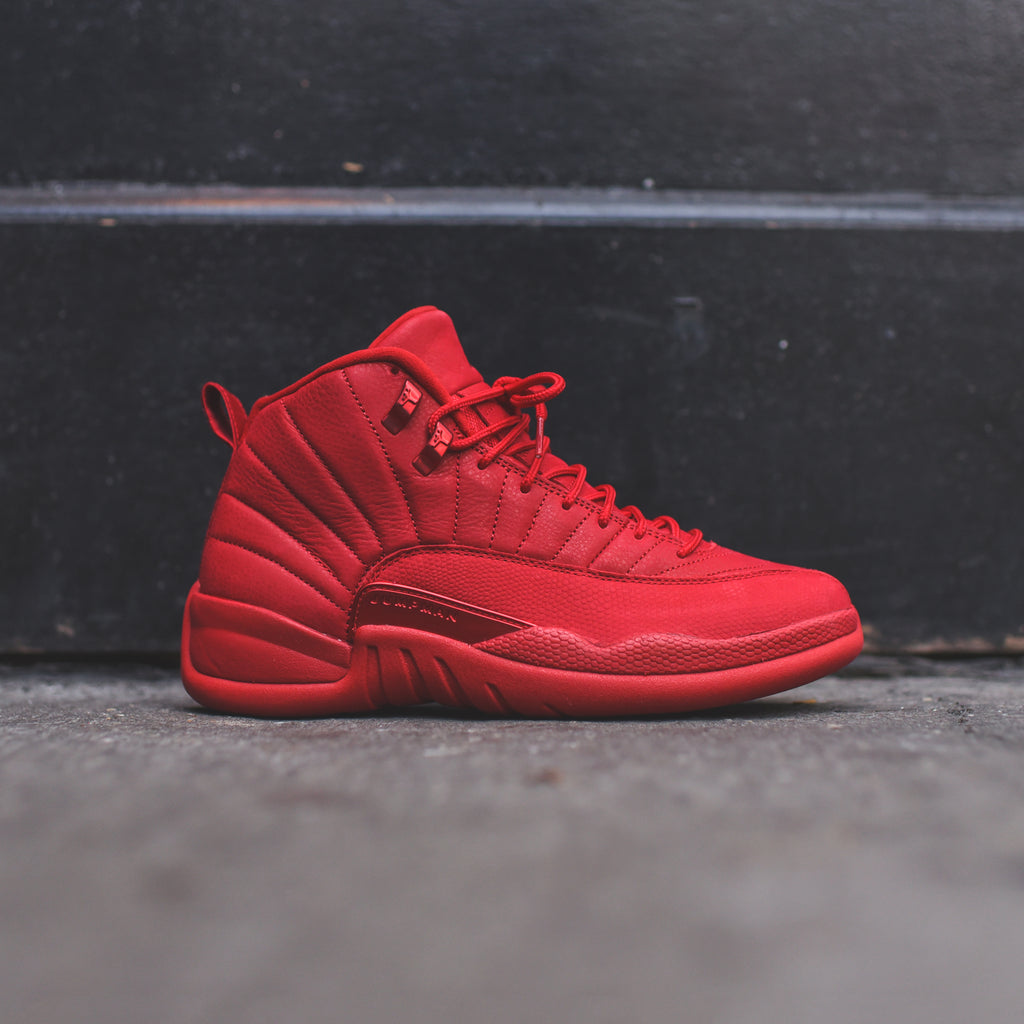 Nike Air Jordan 12 Retro - Gym Red   Black – Kith 5da19e91c
