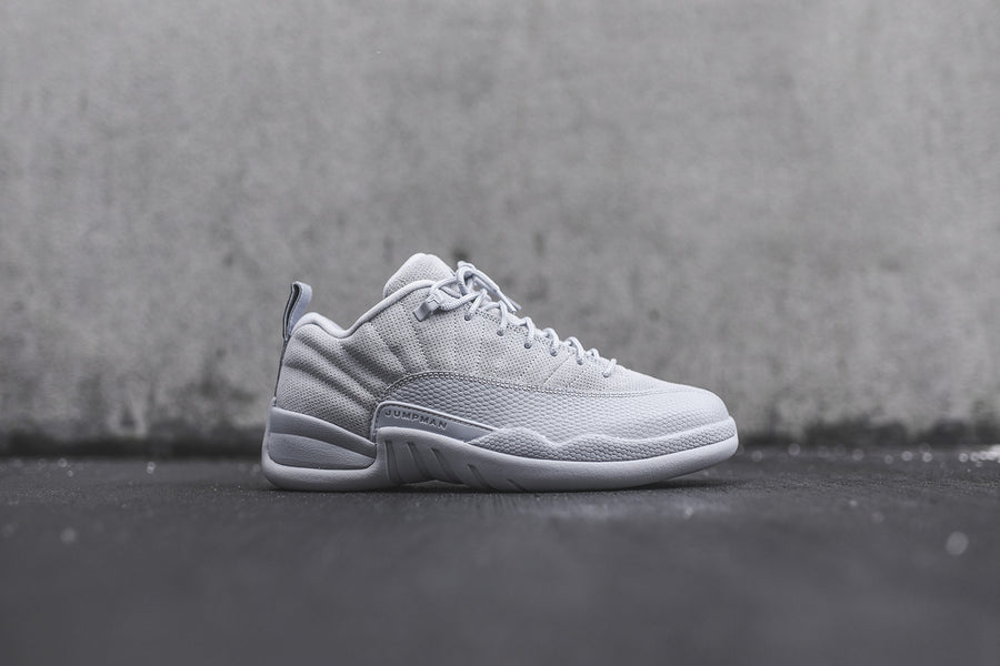 Nike GS Air Jordan 12 Retro Low - Wolf Grey