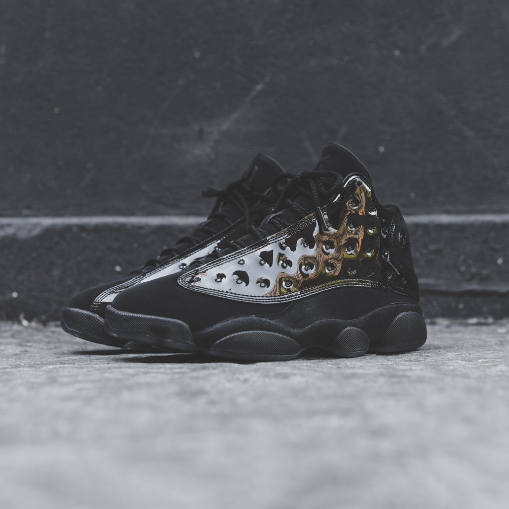 finest selection ab2fd b79d4 Nike GS Air Jordan 13 Retro - Black