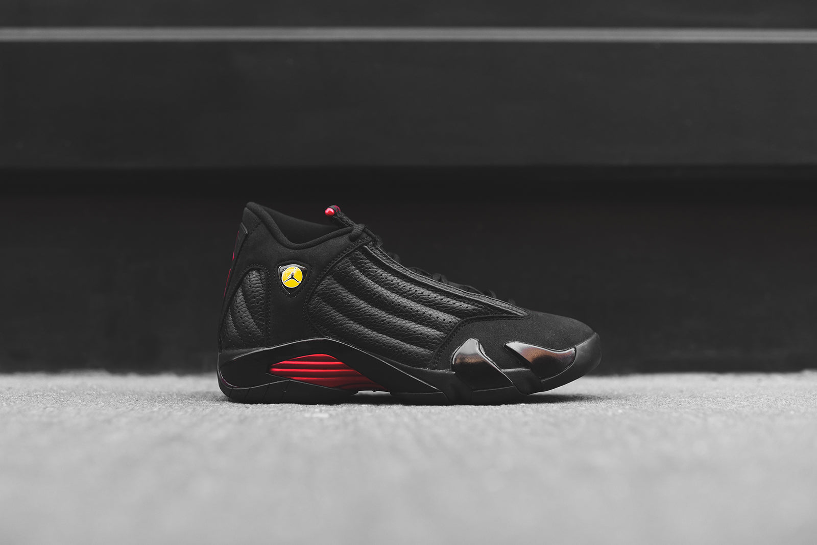 on sale 82bc4 db02c ... inexpensive nike air jordan 14 retro black red 3c841 aff8c
