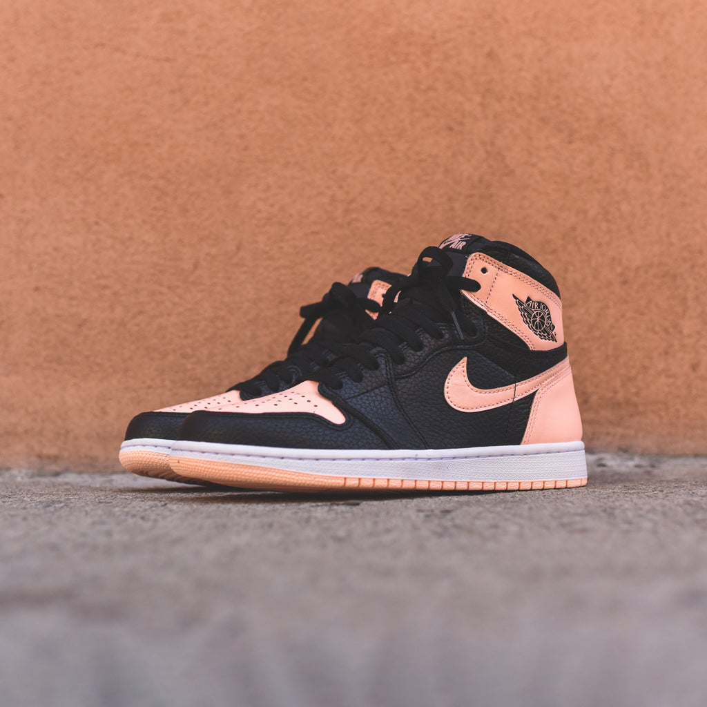d65e4383fdd6 Nike GS Air Jordan 1 Retro High OG - Black   Crimson Tint   White – Kith