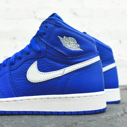 Nike GS Air Jordan 1 - Hyper Royal / Sail