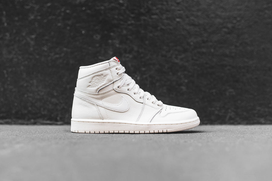 reputable site 87dce 276fc ... white gold red  nike air jordan 1 retro high og sail red