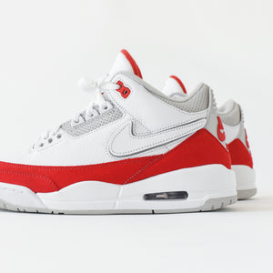 Nike Air Jordan 3 Retro TH SP - White / University Red / Neutral