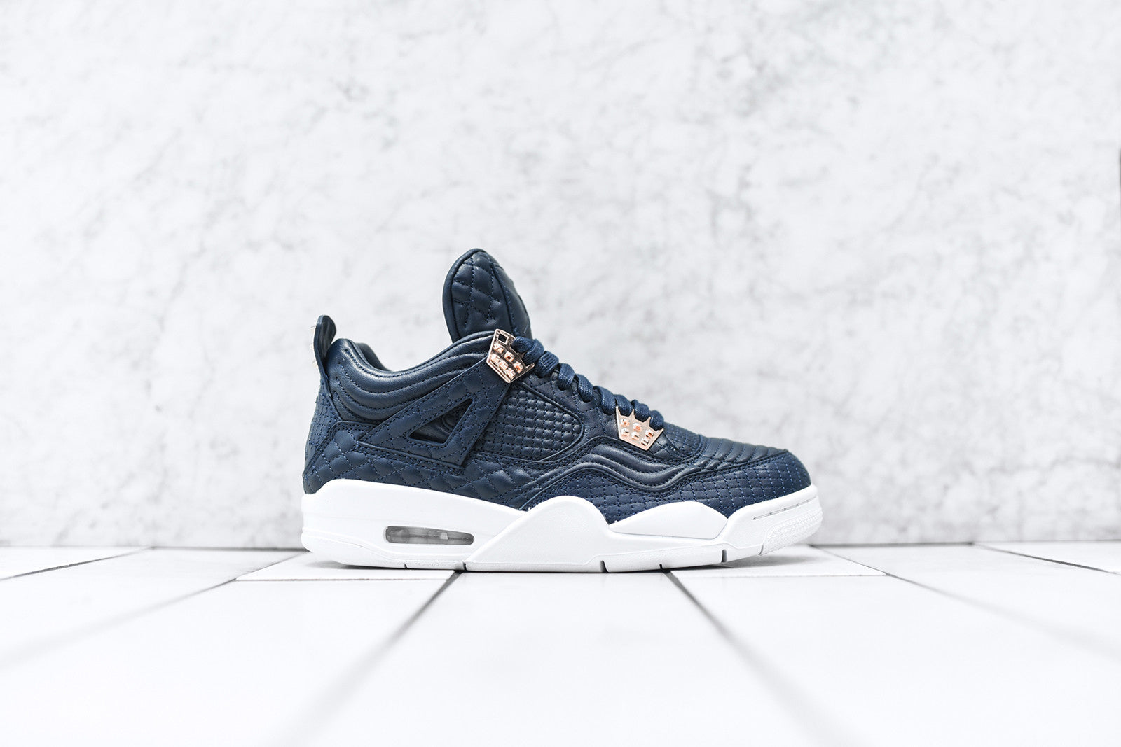 Nike Air Jordan 4 Retro PRM - Navy