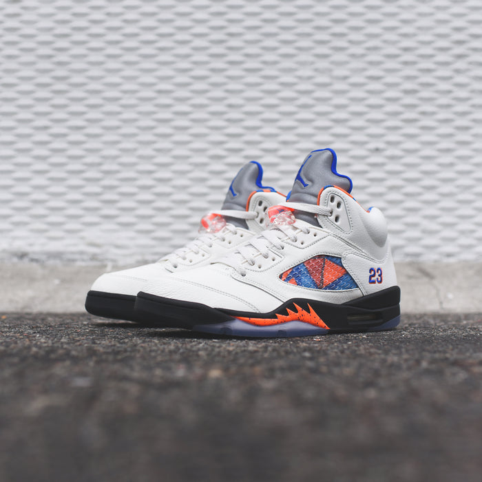 Nike TD Air Jordan 5 Retro - Sail / Racer Blue / Cone Black
