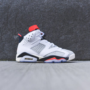 Nike PS Air Jordan 6 Retro - White   Infrared   Neutral Grey – Kith 40755b6629