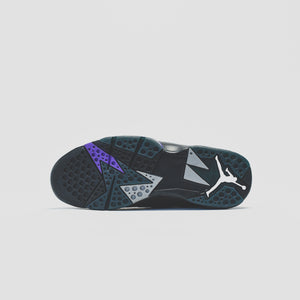 Nike GS Air Jordan 7 Retro - Black / Field Purple Image 6