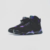 Nike GS Air Jordan 7 Retro - Black / Field Purple Thumbnail 1