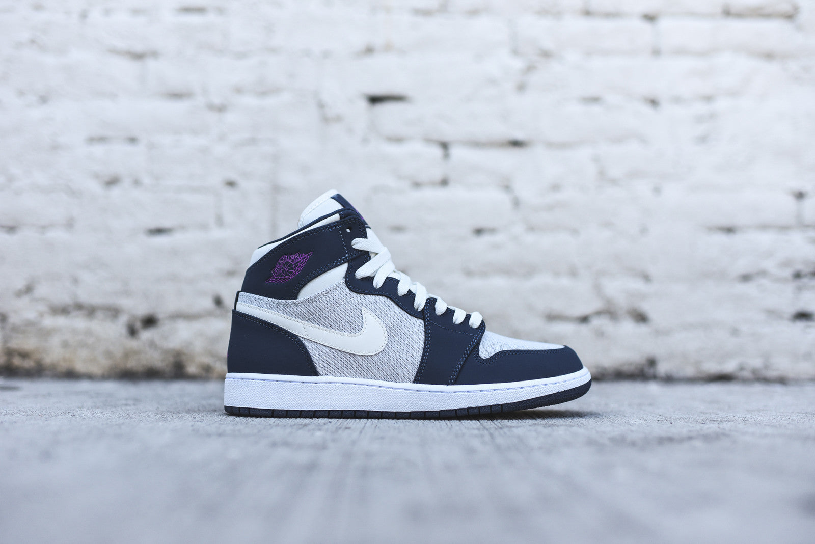 Nike Air Jordan 1 High Retro GS - Squadron Blue