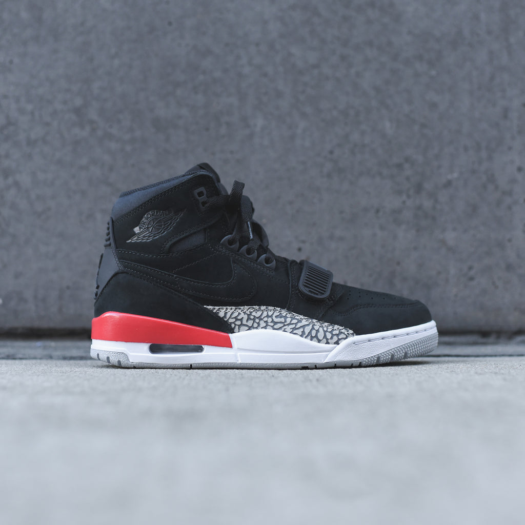 sneakers for cheap fc051 530e6 Nike Air Jordan Legacy 312 - Black   Fire Red – Kith