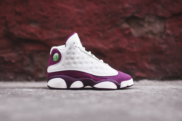 Nike GS Air Jordan 13 - Ivory / Red