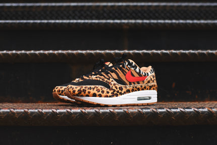 Nike x atmos Air Max 1 DLX - Wheat / Sport Red / Bison