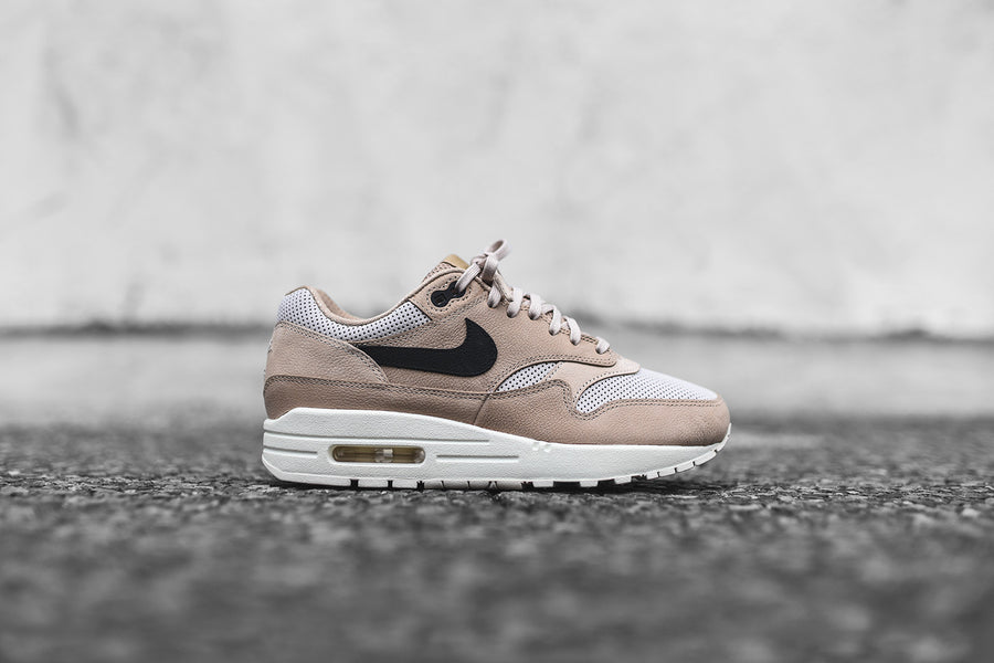 NikeLab WMNS Air Max 1 Pinnacle - Mushroom / Black / Light Bone / Oatmeal