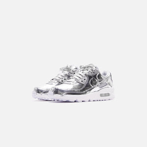 Nike WMNS Air Max 90 SP - Chrome / Pure Platinum Image 3