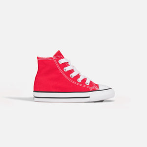 Converse Kids Chuck Taylor All Star High - Red / White Image 1